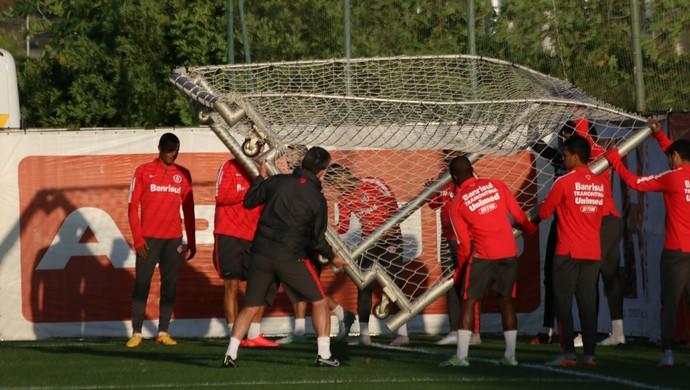 Internacional Inter Argel Fucks treino Inter (Foto: Eduardo Deconto/GloboEsporte.com)
