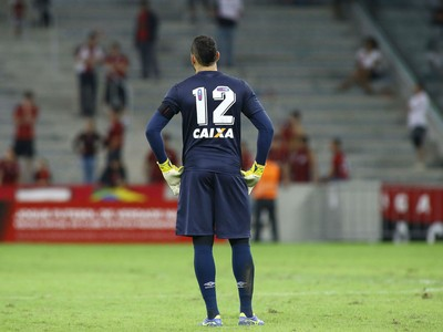 Weverton Atlético-PR (Foto: Giuliano Gomes/Agência PRPRESS)