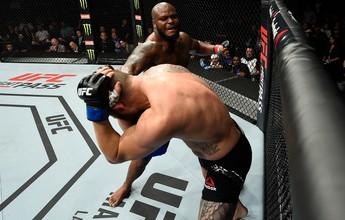 Suspensão médica do UFC Halifax não menciona lesão no pé de Derrick Lewis