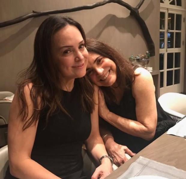 Gabriela Duarte e Regina Duarte (Foto: Reprodução/Instagram)