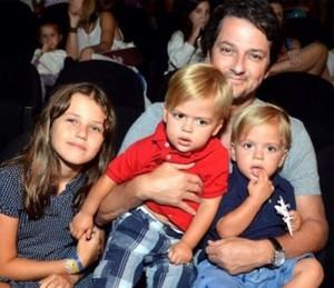 Marcelo Serrado revela ser um pai muito presente (Foto: Arquivo Pessoal)