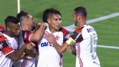 Os gols de Atlético-GO 1 x 2 Flamengo pela Copa do Brasil