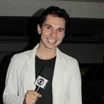 Pablo Caires é um dos repórteres da equipe da Inter TV Grande Minas (Foto: Valdivan Veloso/Inter TV)