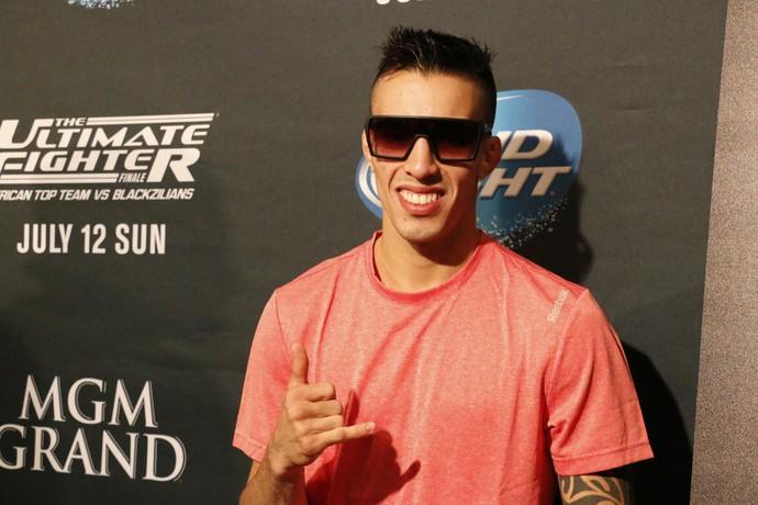 Thomas Almeida UFC MMA (Foto: Evelyn Rodrigues)