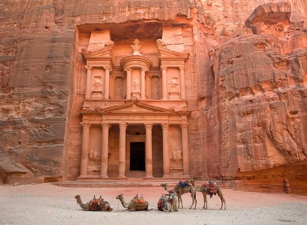 petra-jordania (Foto: Reprodução/National Geographic)