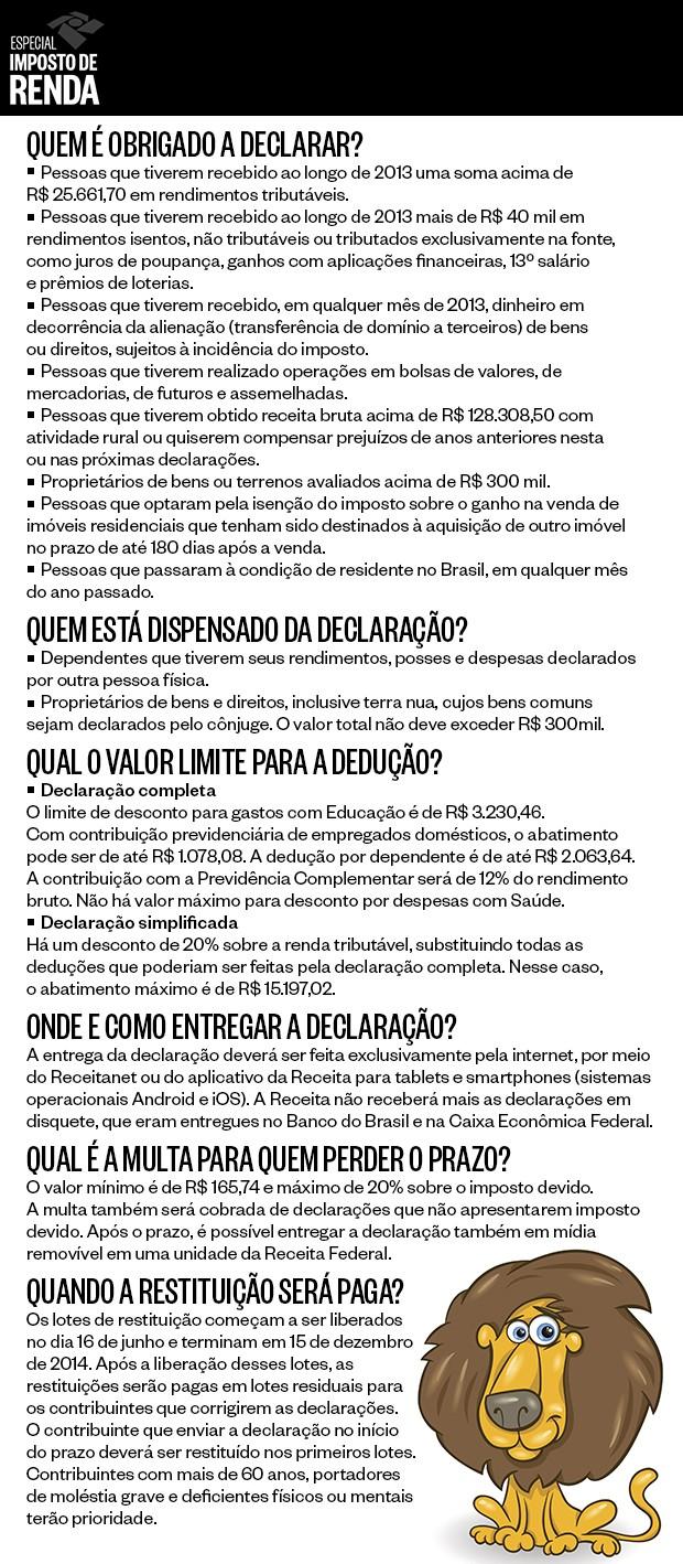 info Imposto de renda  (Foto: Natália Durães/ÉPOCA)