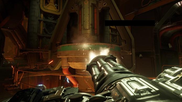 A metralhadora giratória Chaingun traz ação frenética para o novo Doom (Foto: Reprodução/Doom Wiki)
