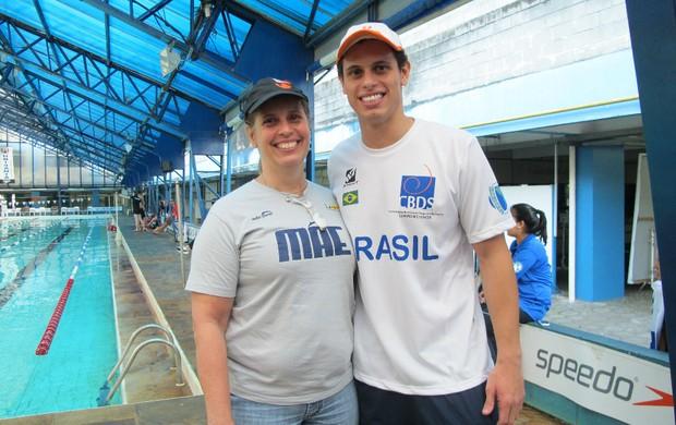 Mãe é a principal incentivadora do atleta (Foto: Juliana Vieira / GloboEsporte.com)