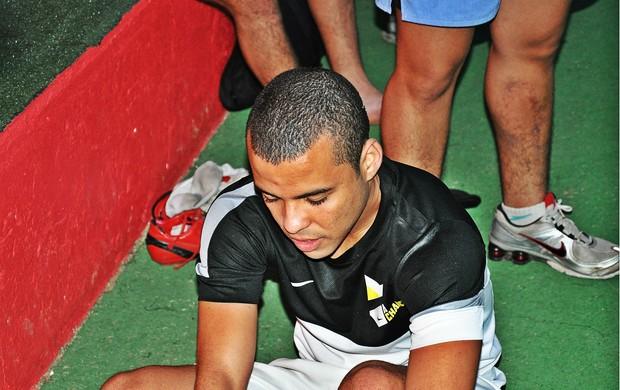 Mateus da Costa e Silva, um dos vencedores da etapa gaúcha de A Chance - Nike (Foto: Daniel Cardoso)