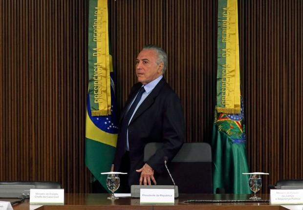 Temer se reúne com ministros antes de viajar para China (Foto: Fabio Rodrigues Pozzebom/Agência Brasil)
