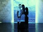 Com direito a beijão, Belo grava clipe com participação de Gracyanne