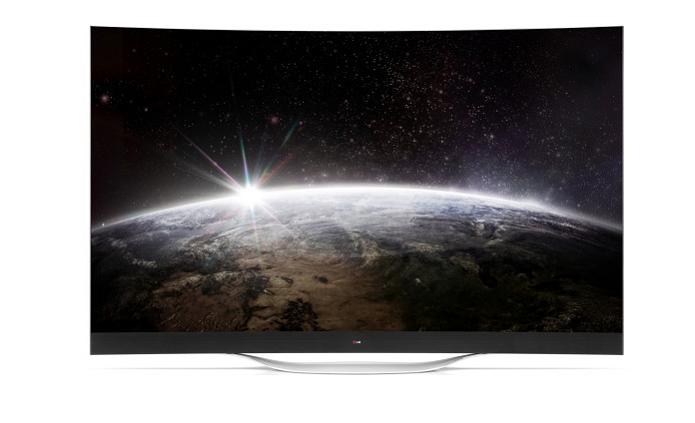 TV curvilínea da LG está próxima de ser lançada (Foto: Divulgação)