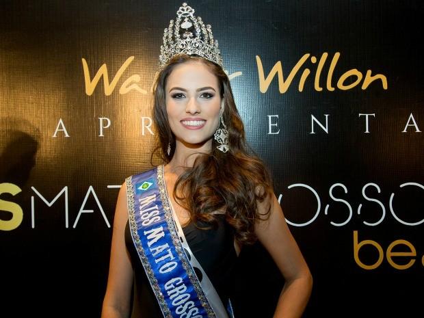 Miss Sorriso venceu o concurso de Miss Mato Grosso 2016 (Foto: Alfredo Calvitti)