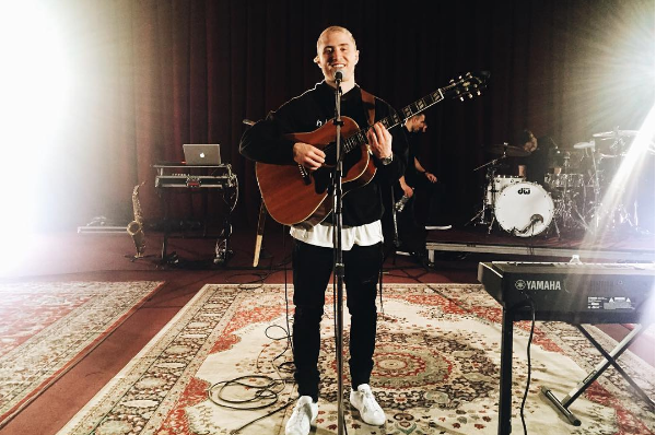 O cantor Mike Posner (Foto: Instagram)