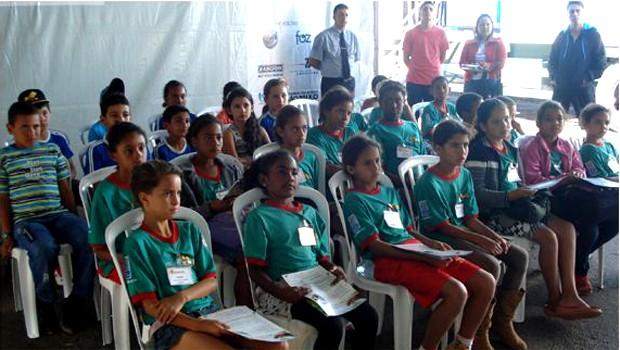 Missão é promover a educação ambiental e a conscientização dos alunos e da comunidade (Foto: Priscila Nascimento/EPTV)
