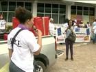 Mulheres fazem protesto em Boa Vista contra reforma da previdência