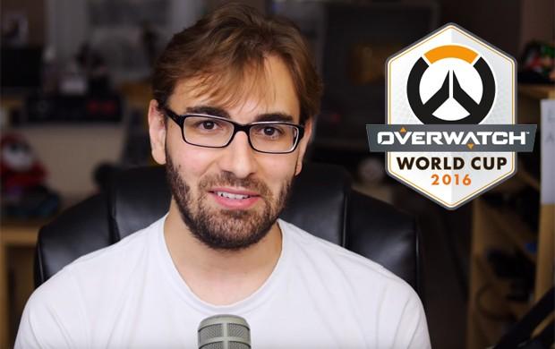Youtuber BRKsEdu será capitão do time Brasil na Copa do Mundo de 'Overwatch' (Foto: Reprodução/YouTube/BRKsEdu e Divulgação/Blizzard)
