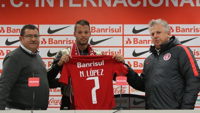 Nico López Internacional (Foto: Eduardo Deconto/GloboEsporte.com)