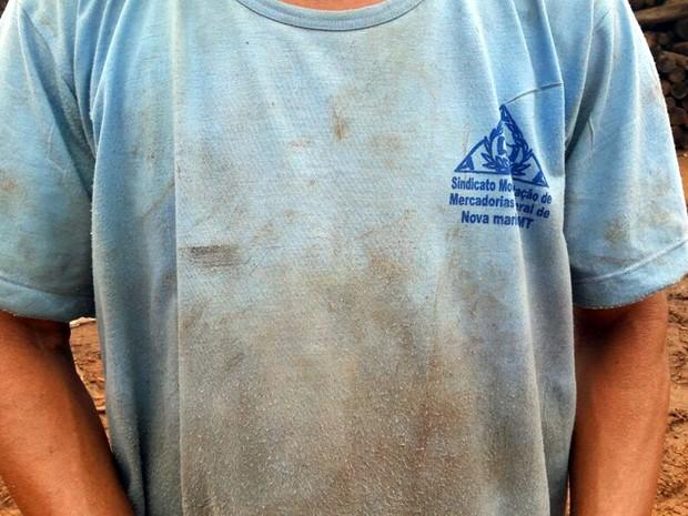 COFCO AGRI trabalhador (Foto: Equipe de Fiscalização / SRTE/MT)