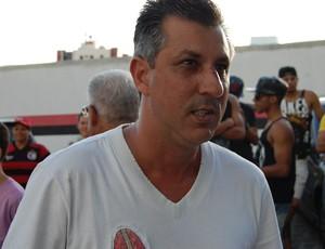 Luciano Mancha, gerente de futebol do Campinense (Foto: Silas Batista / GloboEsporte.com)