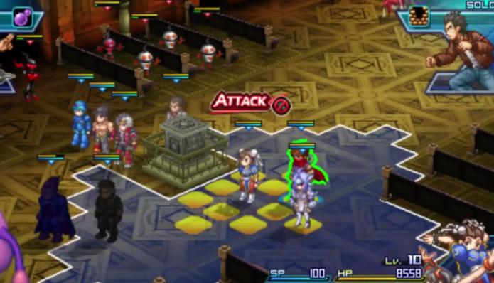 Project X Zone 2 permite ataques combinados (Foto: Divulgação/Bandai Namco)
