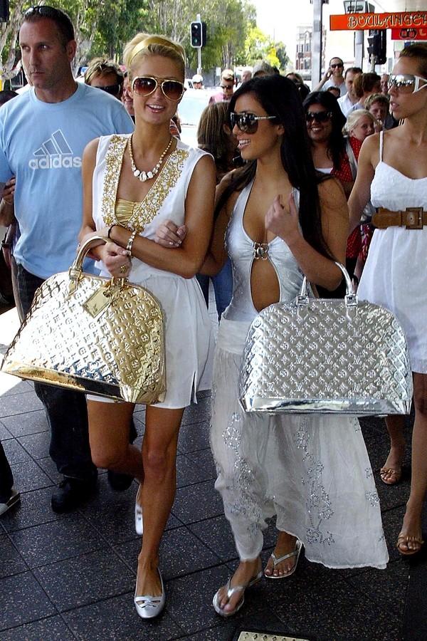 Kim Kardashian e Paris Hilton (Foto: Getty Images)