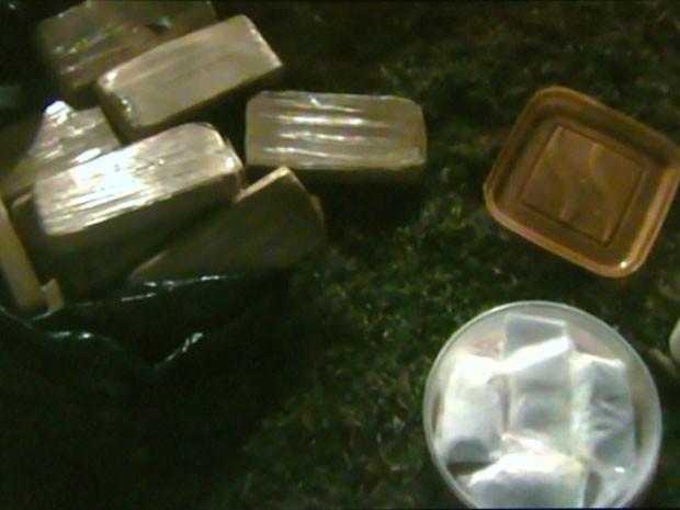 Polícia Civil prende traficante procurado que já tinha seis passagens com 10 quilos de drogas em Indaiatuba (Foto: Reprodução EPTV )