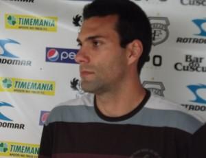 Márcio Garcia, zagueiro do Treze (Foto: Silas Batista)