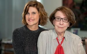 """Simone Zuccolotto e Fernanda Montenegro em """"A Mulher No Cinema"""""""