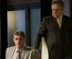 Eduardo Moscovis e José de Abreu em cena de 'A regra do jogo' | Reprodução
