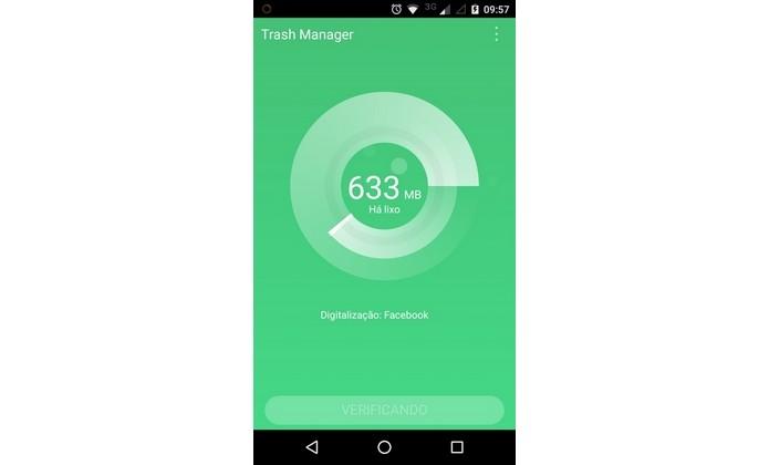 Trash Manager calculando espaço a ser liberado no Android (Foto: Reprodução/Raquel Freire)