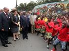 Dilma participa de cerimônia de chegada a Moçambique