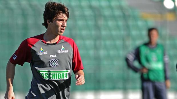 deretti figueirense treino (Foto: Carlos Amorim / Site Oficial do Figueirense)