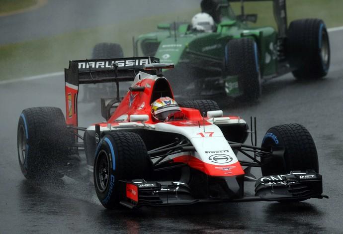 formula 1 marussia caterham (Foto: Reuters)
