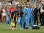 Com luxação, James Rodríguez não enfrenta o Paraguai, afirma agência