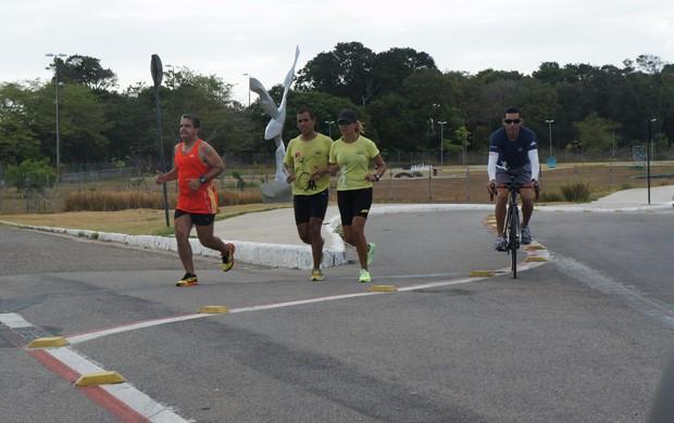 Corrida de Rua na Paraíba (Foto: Larissa Keren)