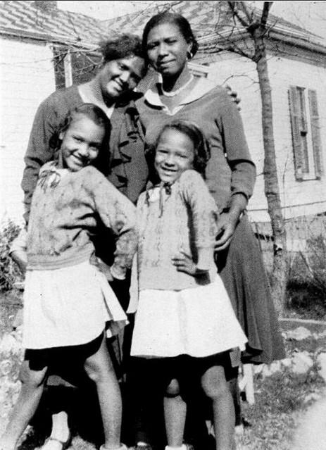 Dorothy, Vivian e Ruby Dandridge, e Geneva Williams (Foto: Reprodução/Tumblr)
