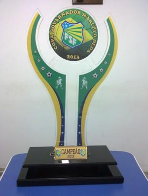 Troféu será entregue ao campeão do primeiro turno (Foto: Sidney Lima-FSF)