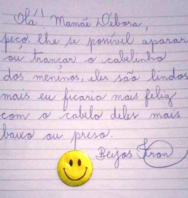 carta (Foto: Reprodução/Facebook)