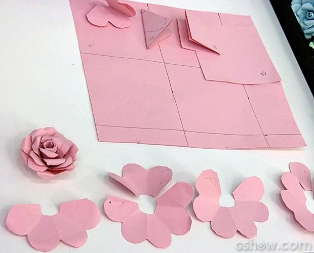 Como Fazer Flor De Cartolina Flores De Papel