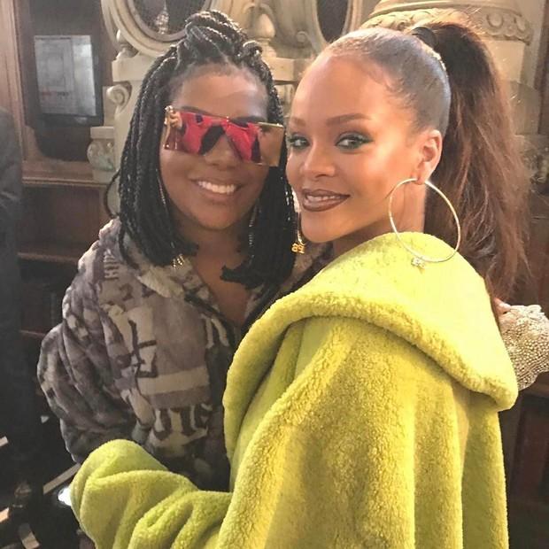 Ludmilla e Rihanna (Foto: Reprodução / Instagram)