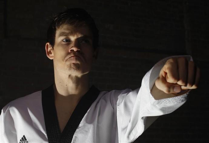 Aaron Cook, líder do ranking mundial de taekwondo (Foto: Reuters)