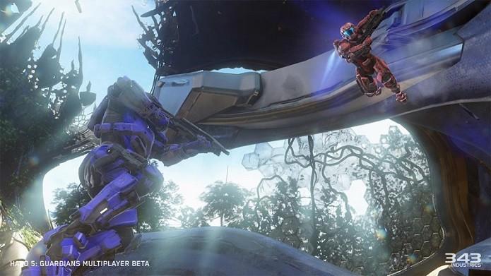Halo 5: Guardians procura inovar na jogabilidade (Foto: Divulgação)