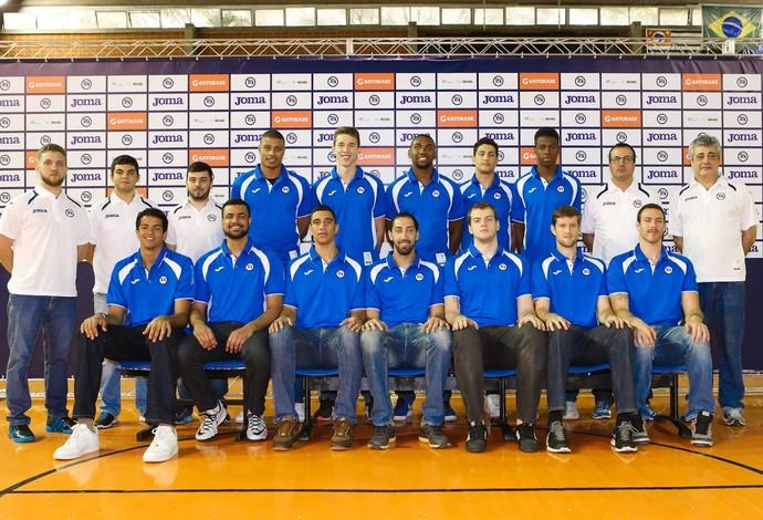 Equipe do Pinheiros é apresentada (Foto: Ricardo Bufolin/Pinheiros)