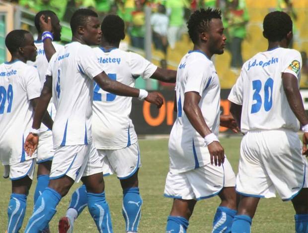 Berekum Chelsea, de Gana, encara o Zamalek pela Champions League da África (Foto: Reprodução / Site Oficial)