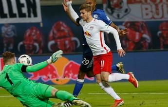"""Árbitro reconhece erro em pênalti para o RB Leipzig: """"Sinto muito"""""""