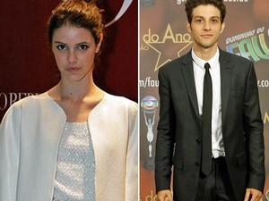 Laura Neiva e o namorado, o ator Chay Suede: parecidos? (Foto: Carolina Morgado / Gshow)
