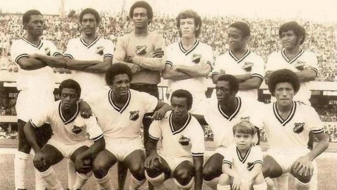 ABC - elenco 1972 Taça Nacional (Foto: Ribamar Cavalcante/Arquivo Pessoal)