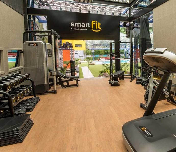 A academia Smart Fit no BBB16 (Foto: Smart Fit)