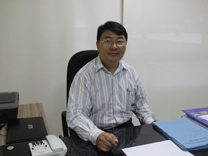 Pang Yen Hsiao, superitendente da Strans (Foto: Patrícia Andrade/G1)